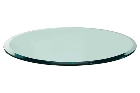 36 quot glass table top 3 8 quot thick beveled edge