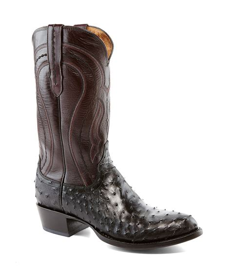 ostrich boots lucchese lucchese since 1883 western quill ostrich boots