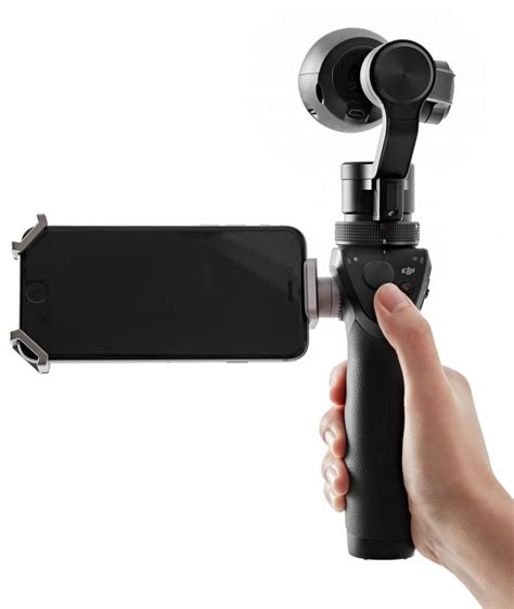 dji osmo is a powerful 4k with an integrated 3 axis gimbal stabilizer