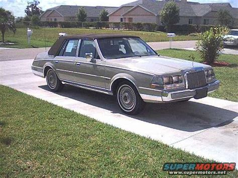 1987 lincoln continental 1987 lincoln continental pictures photos and