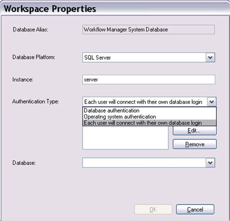 arcgis workflow manager for server adding a wmx database connection in the administrator help