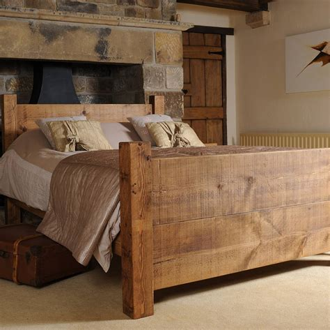 solid wood bed  hf notonthehighstreetcom
