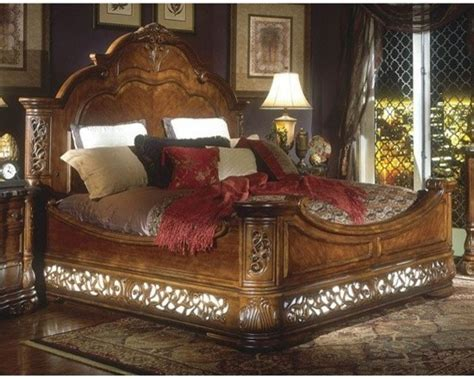 Aico Furniture by Aico Furniture Excelsior Mansion Bed 590 Cbed