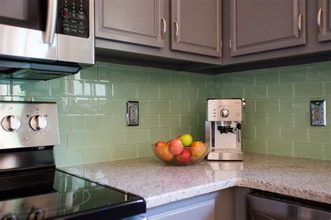 colored subway tile backsplash kitchen backsplash fabulous backsplash ideas for