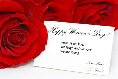 Gift Card For Women - cards for women s day
