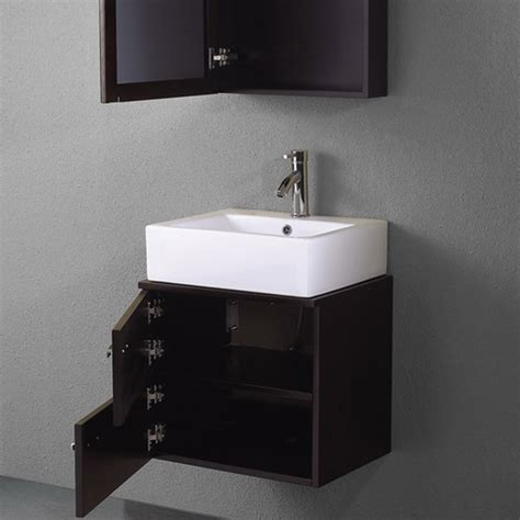 22 inch bathroom vanities vigo industries vigo 22 inch single bathroom vanity with