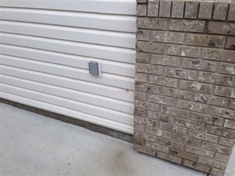 garage door leaks garage wall water leak doityourself community forums