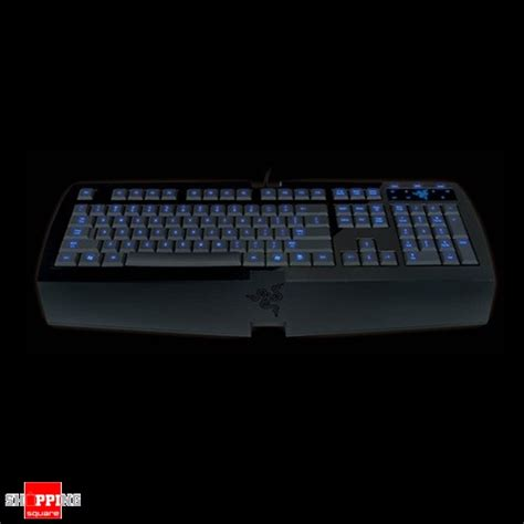 Keyboard Gaming Razer Lycosa razer lycosa gaming keyboard 1000hz ultra polling gaming cluster earphone out microphone in