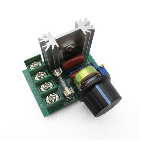 2000w Voltage Regulator Dimmer Motor Speed Controller new 2000w ac 220v scr voltage regulator speed controller