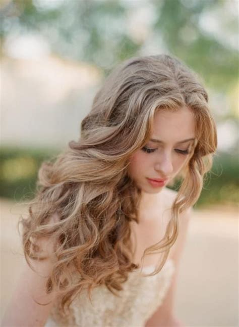 gorgeous hairstyles bridal shower decorations and curls on