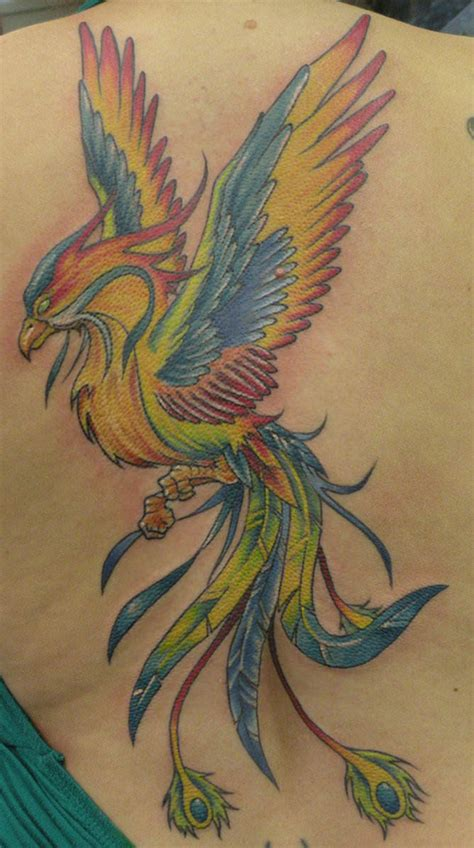 colorful bird tattoo designs a colorful rainbow the combination of