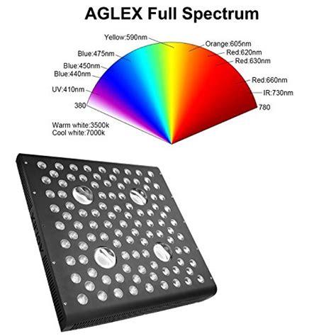 aglex  watt led grow light full spectrum uv ir