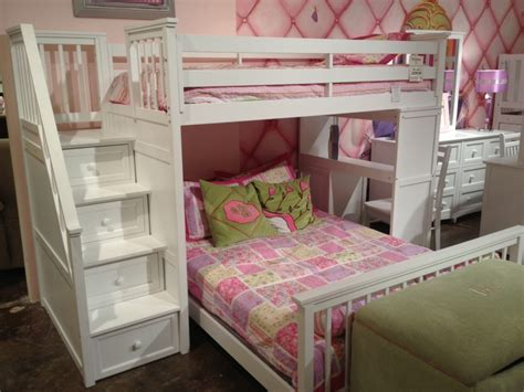 loft bunk beds with stairs and desk chair cushions for