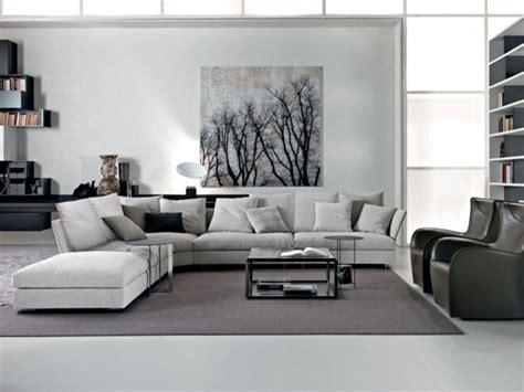 wohnzimmer ändern einrichtung schwarzes sofa