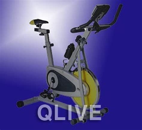 Qlive Foot Detox by Brand New Fitness Upright Exercise Bike Cycle With Lcd Ebay