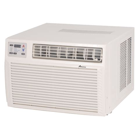 room air conditioners no window shop amana 9 000 btu 400 sq ft 230 volt window air conditioner at lowes