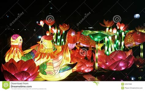 new year lantern carnival new year lantern carnival stock photo image