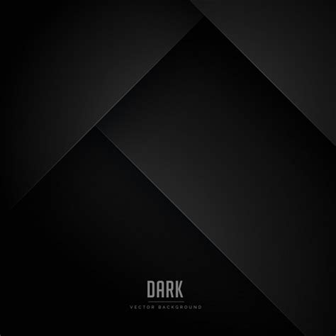 black minimal background  abstract shapes vector
