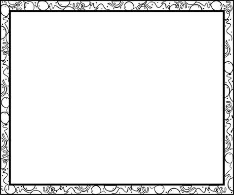 Fancy Bingkai Foto Frame Foto Karakter border free stock photo illustration of blank