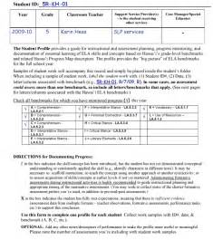 Student Profile Form Essay by Sle Student Profile Pictures To Pin On Pinsdaddy