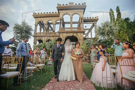 Wedding Organizer In Bacolod City by The Ruins Talisay Negros Garden Wedding Rudy