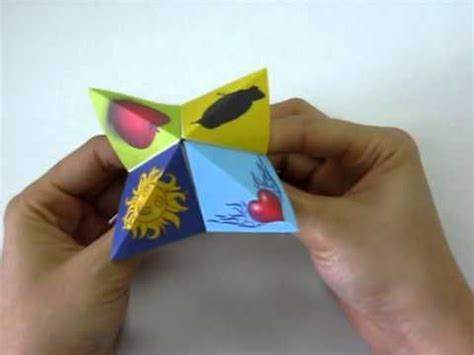 Origami Play - how to play origami cootie catcher cootie catchers