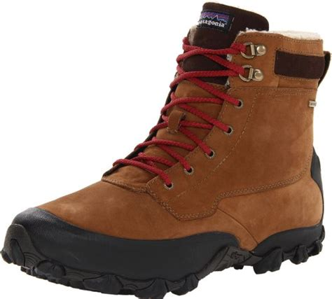 cheap mens waterproof boots patagonia men s snow drifter 7 waterproof lace up snow