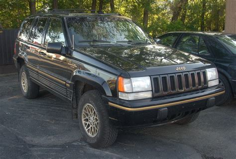 orange jeep grand cherokee 1993 cherokee limited wikipedia autos post