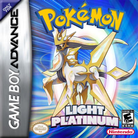 light platinum version gba rom