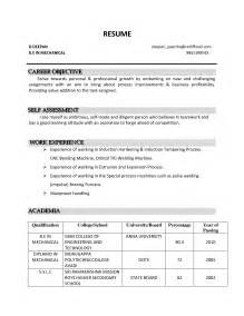 Resume Career Objective A Resume Definition
