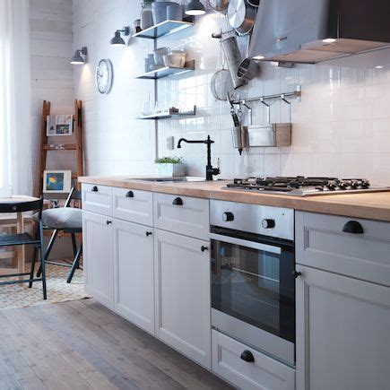 ikea white shaker kitchen cabinets ikea industrial interior design google search home