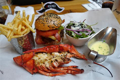 and burger image gallery lobster and burger