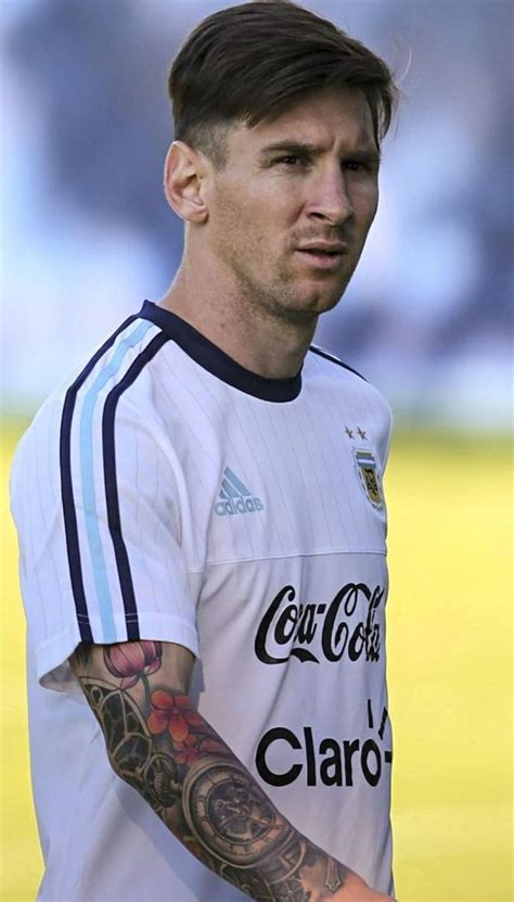lionel messi sleeve tattoo argentina has a national soccer team with their