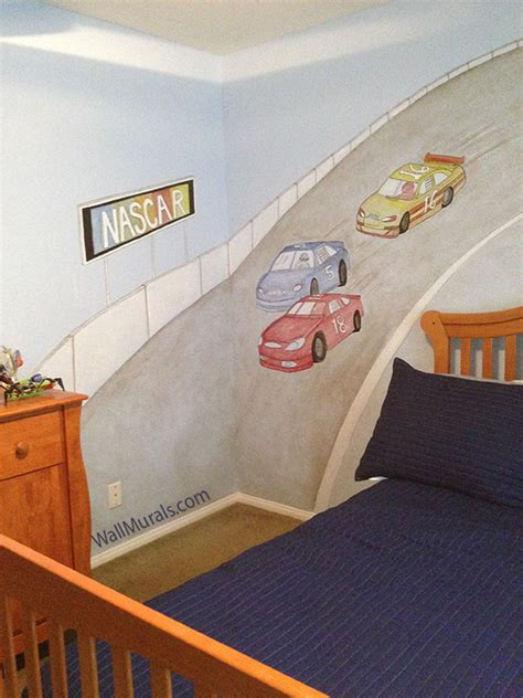 nascar wall murals wall murals by colette transportation theme wall murals
