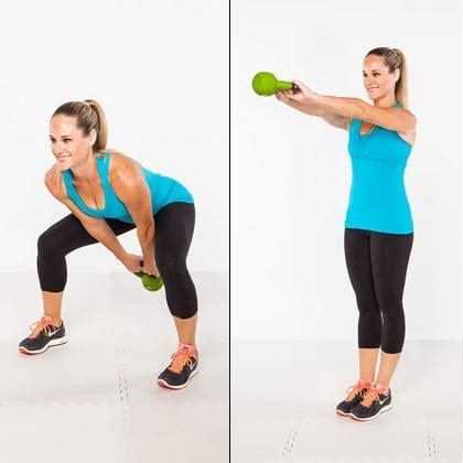 kettle swing exercise 22 different kettle bell exercises you can do for a great