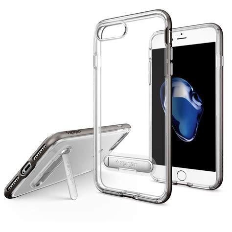 Spigen Hybrid Gunmetal Iphone 7 Plus spigen hybrid skal till iphone 7 plus gunmetal themobilestore