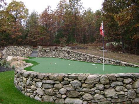 Backyard Practice Green Artificial Turf Golf Greens New England Turf Store