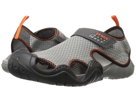 croc water shoes crocs swiftwater sandal zappos free shipping both ways