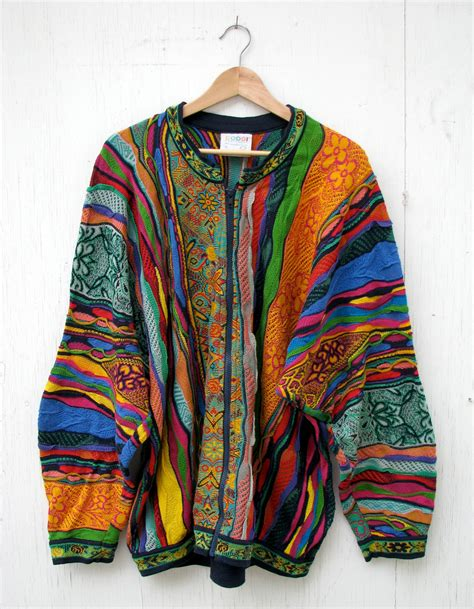 xl sweaters 90s coogi cardigan sweater xl cotton australia