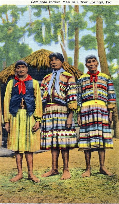 Seminole Patchwork History - 159030 seminole indians seminole indians
