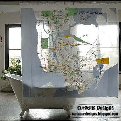 creative shower curtain ideas 30 creative shower curtains unique designs styles photos 1
