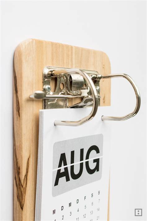 klemmbrett selber machen kalender klemmbrett mal anders zwo ste