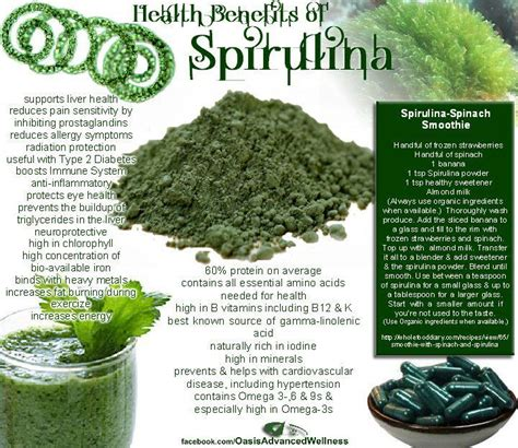 Chlorella For Mold Detox by Do You Like Spirulina Health Benefits Include That It