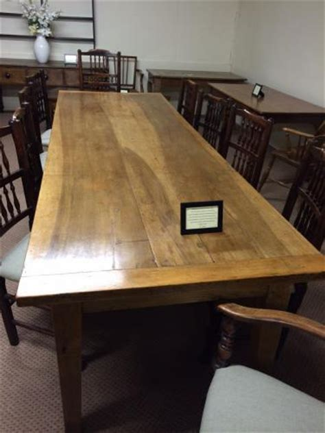 large walnut antique farmhouse table antique dining table