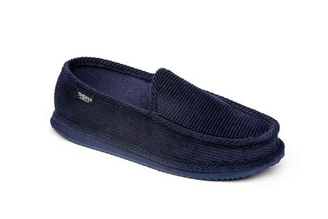men s house shoes mens corduroy slip on slippers by trooper america men s slippers at beltoutlet com