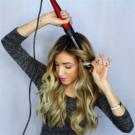 beachy waves for short gair with remington wand girls best curling iron for beachy waves