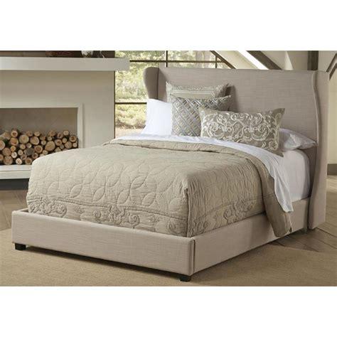 cream upholstered bed pulaski furniture all in 1 cream king upholstered bed 1882