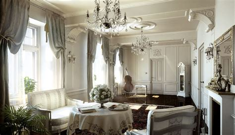 French Home Interior by Classic Style Interior Design Ideas