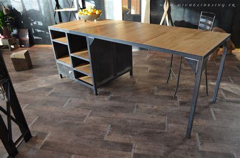 Formidable Table Ilot De Cuisine #4: 271meuble-de-cuisine-sur-mesure-bois-metal.JPG