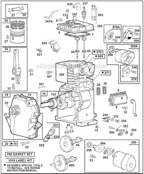 7 hp briggs and stratton engine diagram 7 free engine